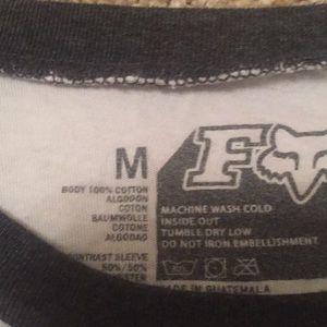 Fox Tops - Fox long sleeve. M (fits like L)